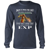 Don't piss me off - Aion Shirt - TeeAmazing