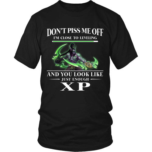 Don't piss me off (Illidan) - WoW Shirt - TeeAmazing - 1