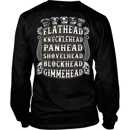 Gimmehead - Bikers Shirt - TeeAmazing