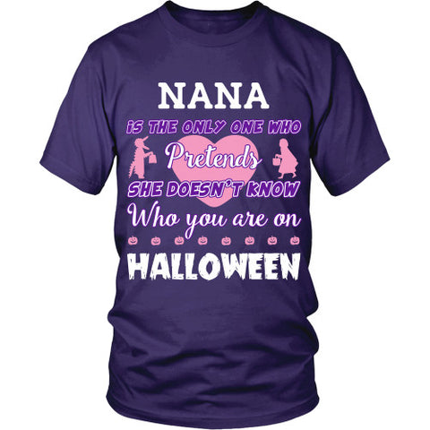 Halloween - NANA Shirt - TeeAmazing