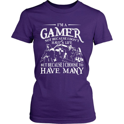 I'm a gamer - FF Shirt - TeeAmazing