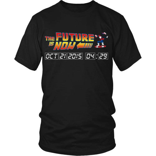 The Future is Now - BTTF Shirt - TeeAmazing - 1