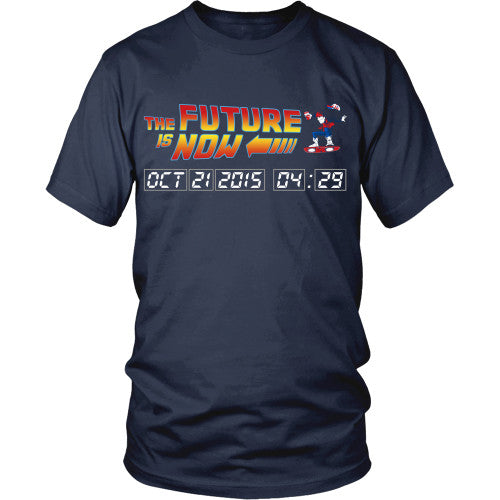 The Future is Now - BTTF Shirt - TeeAmazing