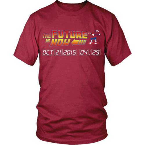 The Future is Now - BTTF Shirt - TeeAmazing - 4