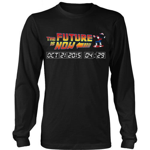 The Future is Now - BTTF Shirt - TeeAmazing - 8