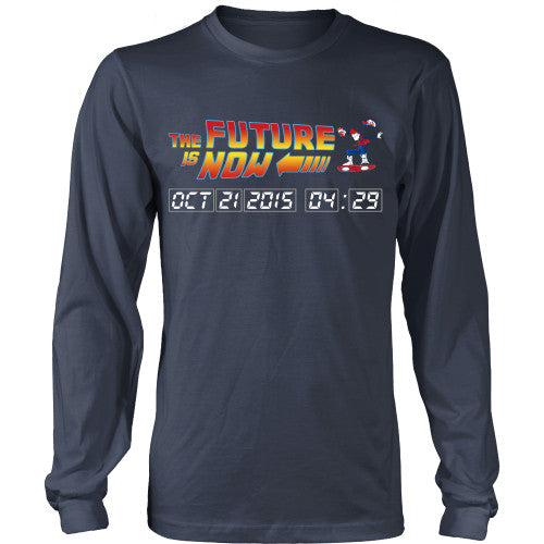 The Future is Now - BTTF Shirt - TeeAmazing - 9