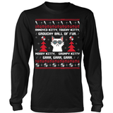 Ugly Annoyed Kitty Sweater T-Shirt - Annoyed Kitty Shirt - TeeAmazing