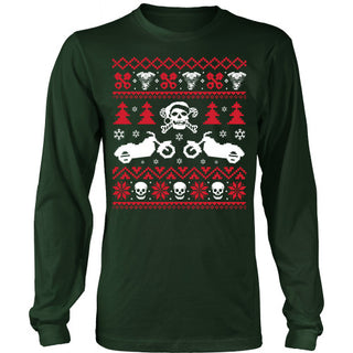 Ugly Biker Sweater T-Shirt - Biker Shirt - TeeAmazing