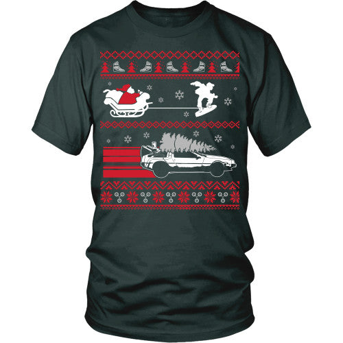 Ugly BTTF Sweater T-Shirt - BTTF Shirt - TeeAmazing