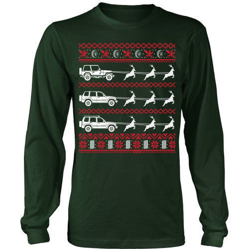 Ugly Jeep Sweater T-Shirt - Jeep Shirt - TeeAmazing