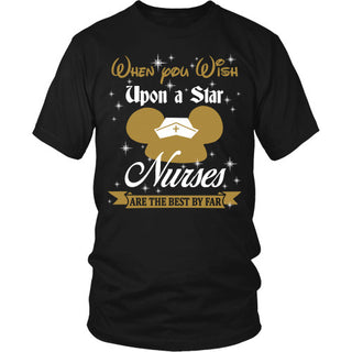When you wish upon a star - Nurses Shirt - TeeAmazing