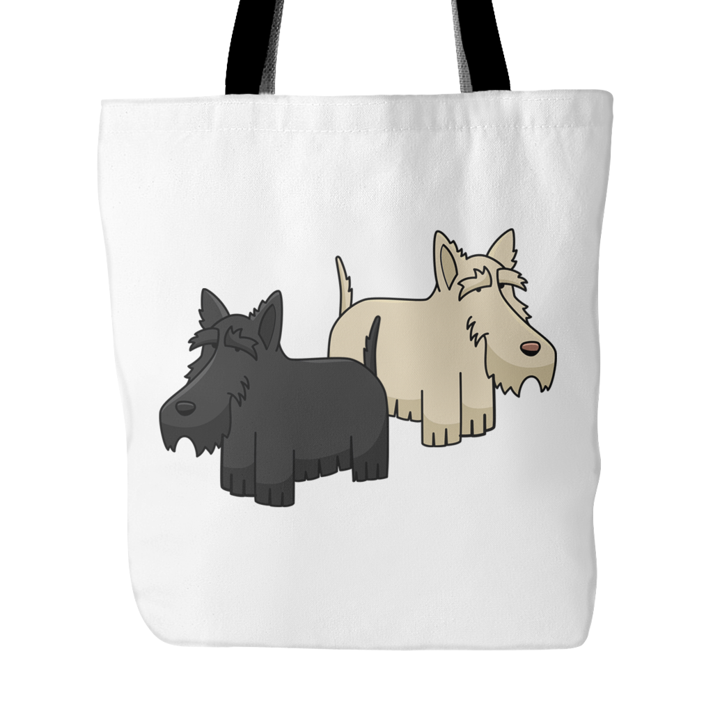 Scottish Terrier Dog Tote Bags - Scottish Terrier Bags - TeeAmazing
