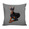 Doberman Pinscher Dog Pillow Cover - Doberman Pinscher Accessories - TeeAmazing - 2