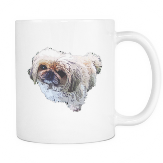 Pekingese Dog Mugs & Coffee Cups - Pekingese Coffee Mugs - TeeAmazing