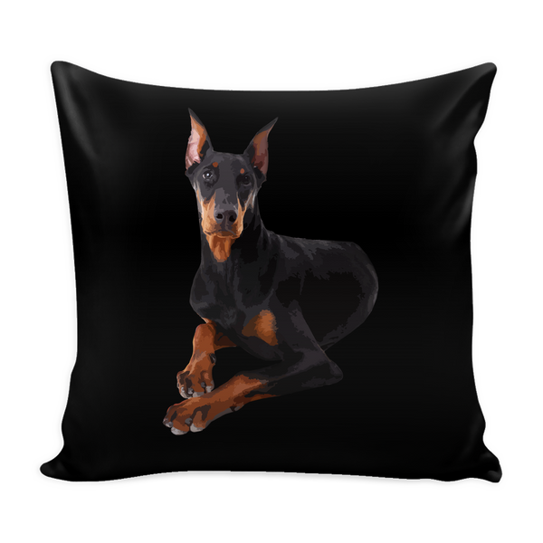 Doberman Pinscher Dog Pillow Cover - Doberman Pinscher Accessories - TeeAmazing - 3