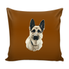 German Shepherd Dog Pillow Cover - German Shepherd Accessories - TeeAmazing - 3