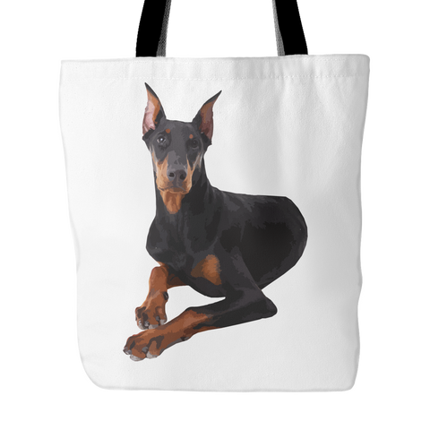 Doberman Pinscher Dog Tote Bags - Doberman Pinscher Bags - TeeAmazing