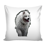 Samoyed Dog Pillow Cover - Samoyed Accessories - TeeAmazing - 2