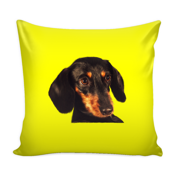 Dachshund Dog Pillow Cover - Dachshund Accessories - TeeAmazing - 4
