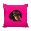 Dachshund Dog Pillow Cover - Dachshund Accessories - TeeAmazing - 1
