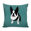 Boston Terrier Dog Pillow Cover - Boston Terrier Accessories - TeeAmazing - 2