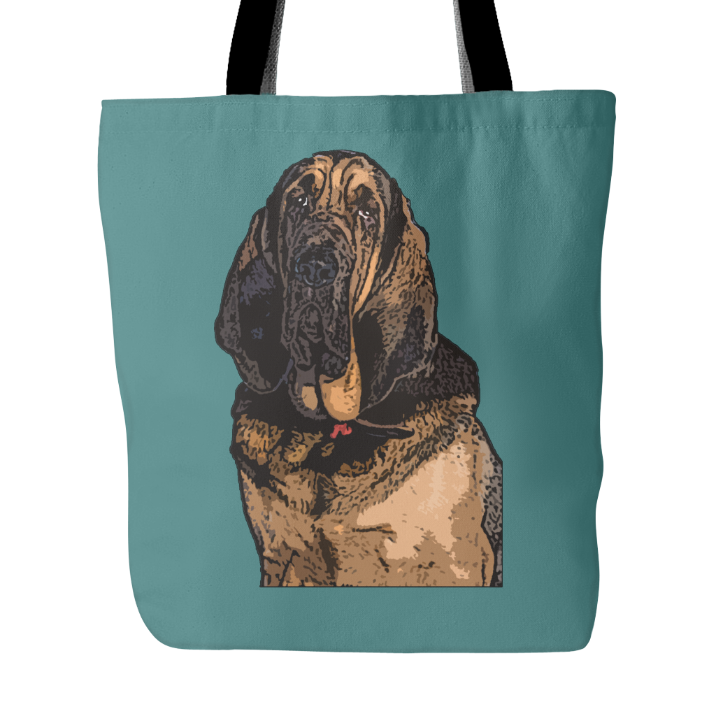 Bloodhound Dog Tote Bags - Bloodhound Bags - TeeAmazing - 3
