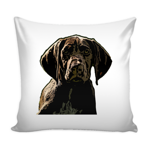 German Shorthaired Pointer Dog Pillow Cover - German Shorthaired Pointer Accessories - TeeAmazing - 1