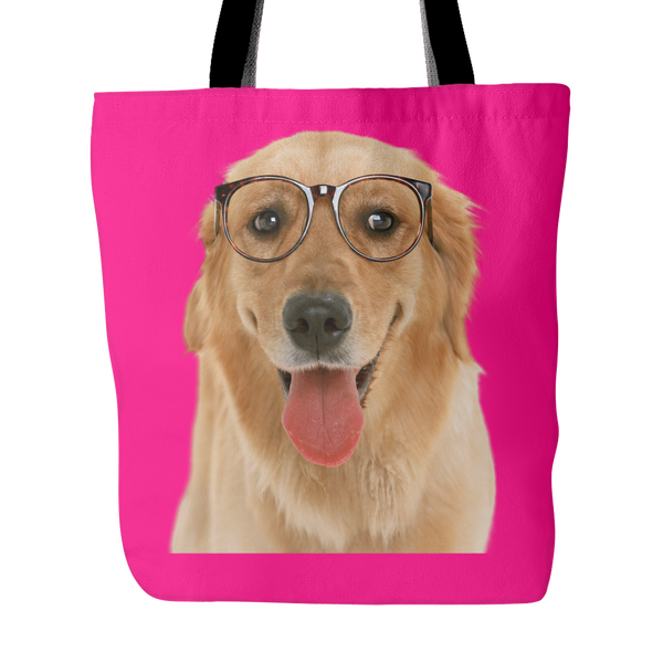 Golden Retriever Dog Tote Bags - Golden Retriever Bags - TeeAmazing - 4