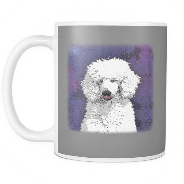 Painting Poodle Dog Mugs & Coffee Cups - Poodle Coffee Mugs - TeeAmazing - 8