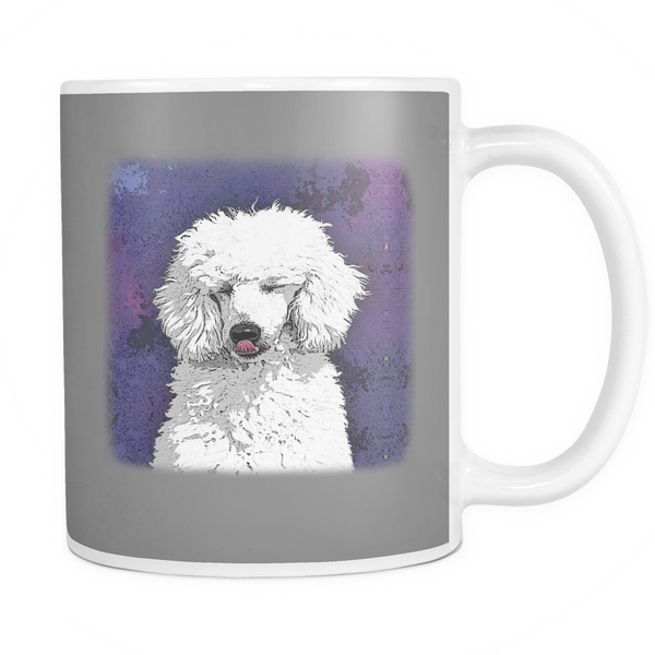 Painting Poodle Dog Mugs & Coffee Cups - Poodle Coffee Mugs - TeeAmazing - 7