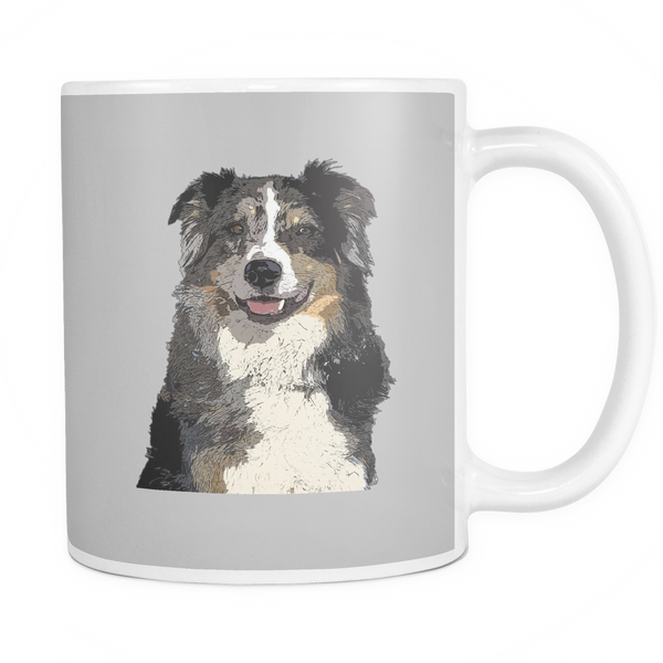 Australian Shepherd Dog Mugs & Coffee Cups - Australian Shepherd Coffee Mugs - TeeAmazing - 3