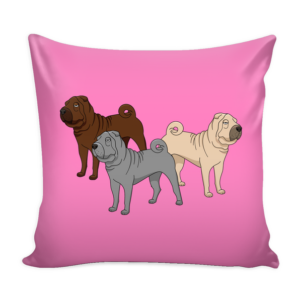 Shar Pei Dog Pillow Cover - Shar Pei Accessories - TeeAmazing - 4
