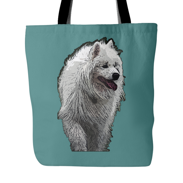Samoyed Dog Tote Bags - Samoyed Bags - TeeAmazing - 3