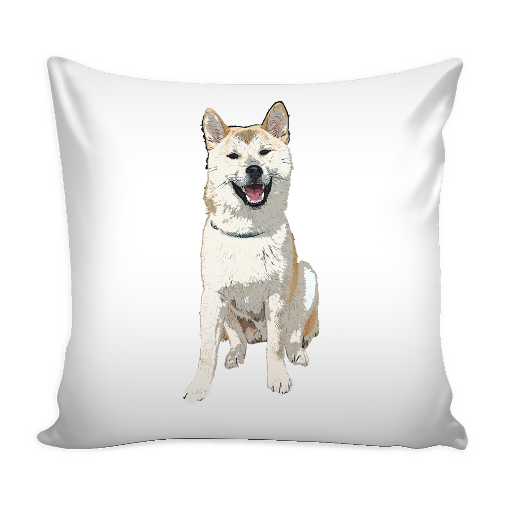 Akita Dog Pillow Cover - Akita Accessories - TeeAmazing - 1