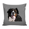 Bernese Mountain Dog Pillow Cover - Bernese Mountain Accessories - TeeAmazing - 2