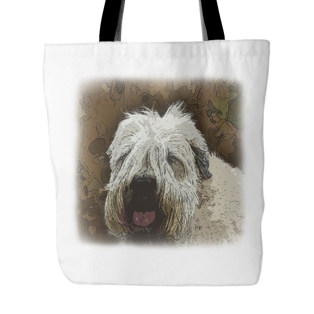 Soft Coated Wheaten Terrier Dog Tote Bags - Soft Coated Wheaten Terrier Bags - TeeAmazing - 2