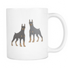 Doberman Pinscher Dog Mugs & Coffee Cups - Doberman Pinscher Coffee Mugs - TeeAmazing - 1