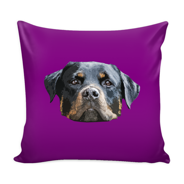 Rottweiler Dog Pillow Cover - Rottweiler Accessories - TeeAmazing - 3