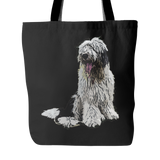 Old English Sheepdog Dog Tote Bags - Old English Sheepdog Bags - TeeAmazing - 1