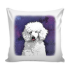 Painting Poodle Dog Pillow Cover - Poodle Accessories - TeeAmazing - 2