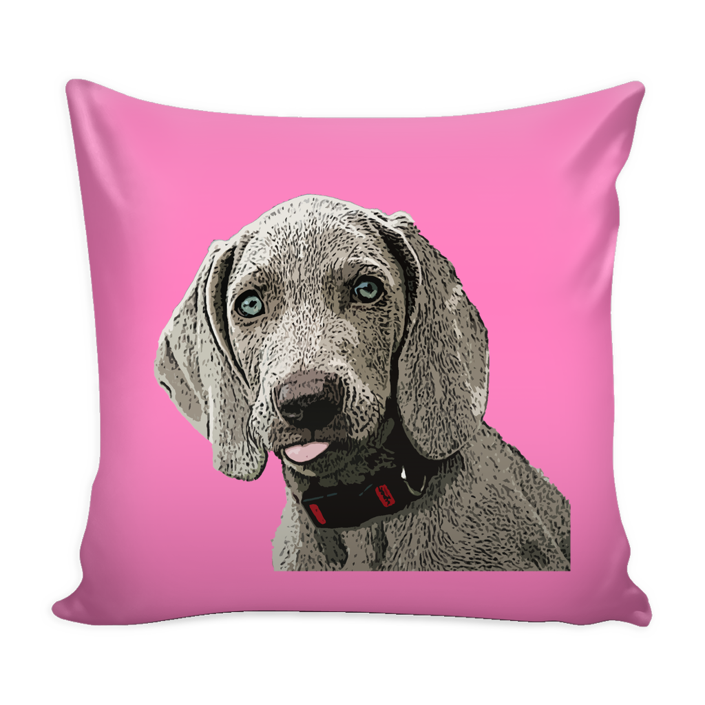 Weimaraner Dog Pillow Cover - Weimaraner Accessories - TeeAmazing