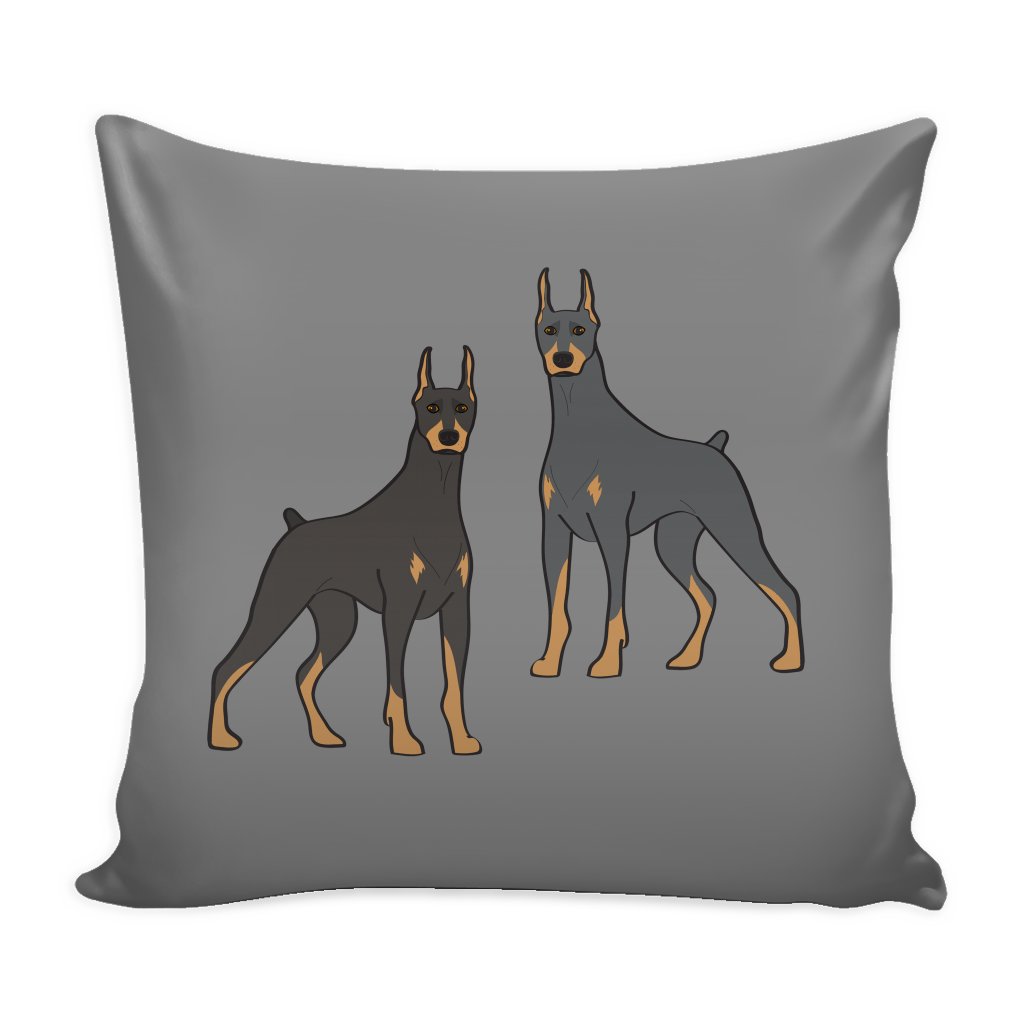 Doberman Pinscher Dog Pillow Cover - Doberman Pinscher Accessories - TeeAmazing