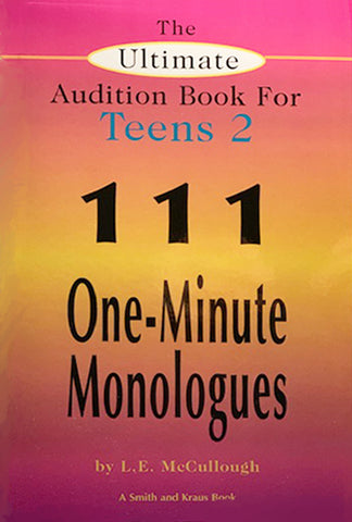 THE ULTIMATE AUDITION BOOK FOR TEENS Vol ll