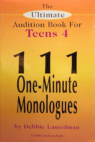 THE ULTIMATE AUDITION BOOK FOR TEENS Vol lV