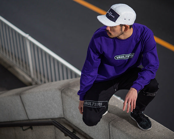 Vaults101®︎ 2nd drop purple tee
