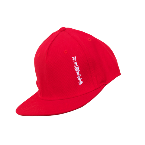 "VAULTS101 ""V"" CAP 【RED】"
