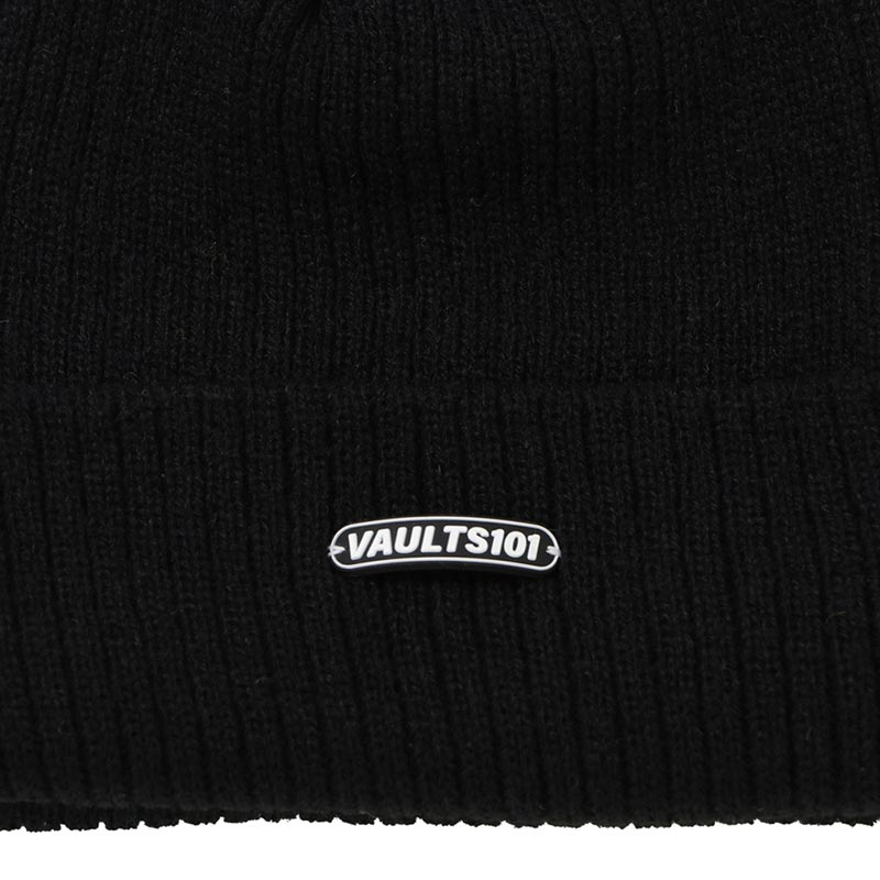 Vaults101®︎ PATCH SHORT BEANIE
