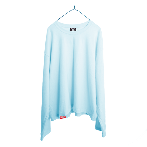 VAULTS101 VL LONG SLEEVE TEE【BLUE】