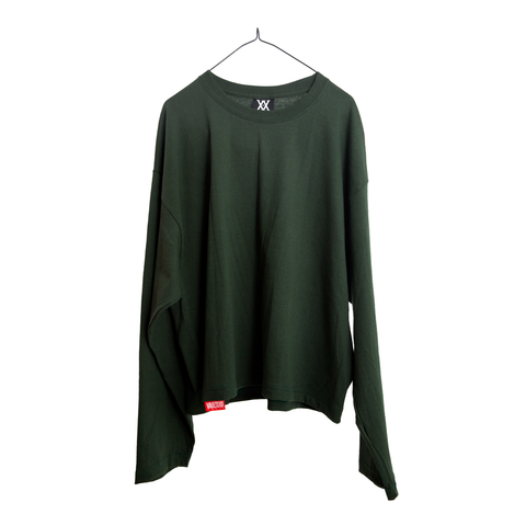VAULTS101 VL LONG SLEEVE TEE 【GREEN】