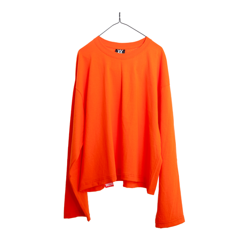 VAULTS101 VL LONG SLEEVE TEE 【ORANGE】